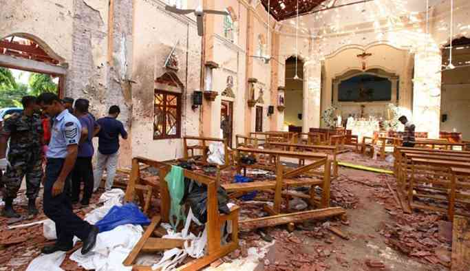 Sri Lanka'da bilanço ağırlaşıyor: 290 ölü, 500 yaralı