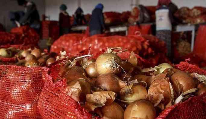 Tanzimler kaldırıldı soğanın kilosu 10 liraya ulaştı