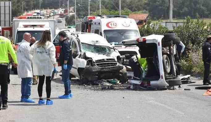 Trafik Kazasında Batmanlı aile yok oldu: 7 ölü