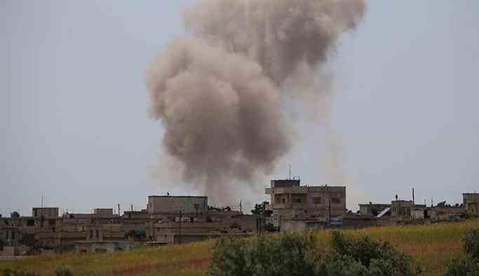 AA: Suriye, İdlib'de TSK'nın gözlem noktasının yakınını vurdu