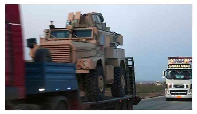ABD'nin YPG'ye yardımı sürüyor.. 65 Tırlık yeni sevkiyat