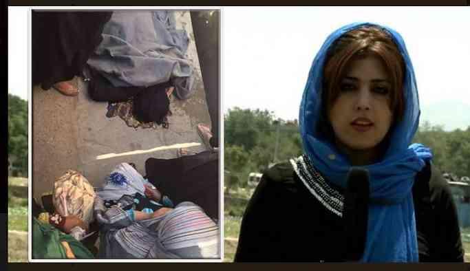 Afganistan'da kadın gazeteci öldürüldü