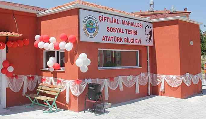 AKP'li başkan Atatürk Bilgi Evi'ni kapattı