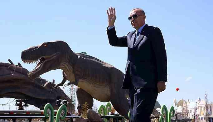 Ankara'nın su parası dinozorlara gitmiş