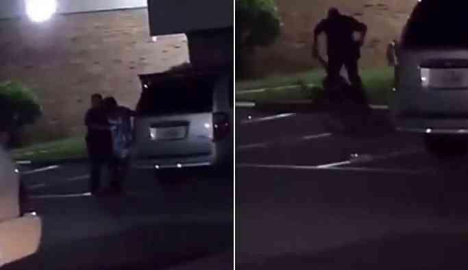 Gözaltına alamadığı hamile kadına kurşun yağdırdı!
