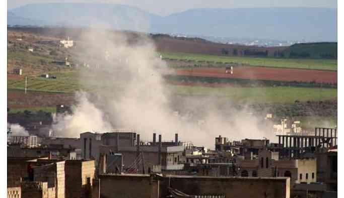 İdlib'de Türkiye'ye ait askeri üs vuruldu