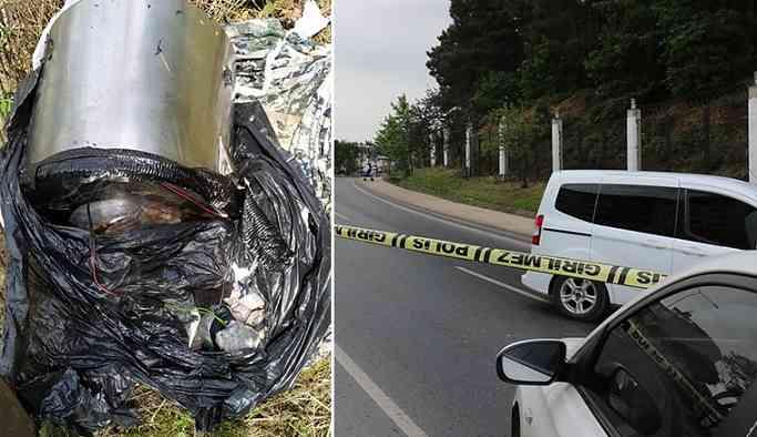 İstanbul Ümraniye'de ormanlık alanda bomba bulundu