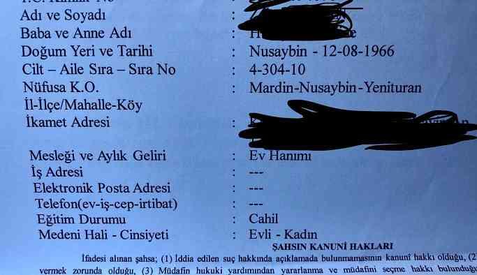 """Mahkemeden skandal: Kürt annelerinin eğitim durumuna """"Cahil"""" yazıldı!"""
