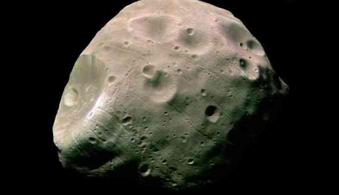 Mars'ın uydusu ilk kez görüntülendi