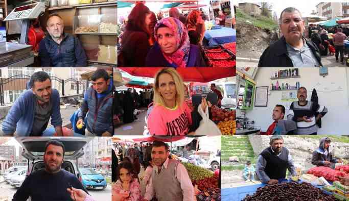 Pazarda AKP'ye isyan!
