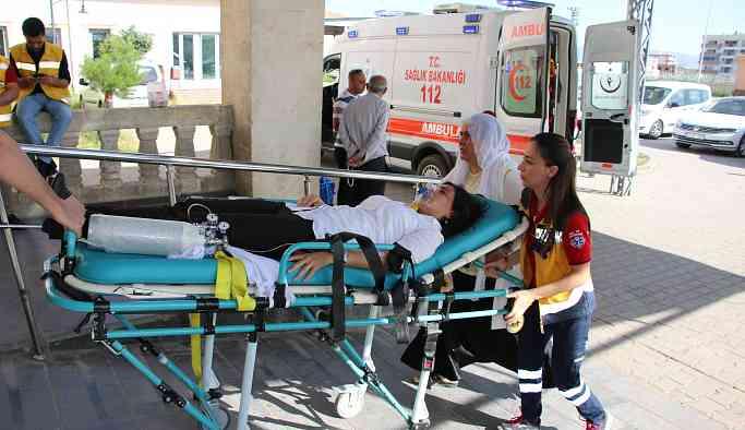 Polis müdahalesinde fenalaşan HDP'li Vekil hastaneye kaldırıldı