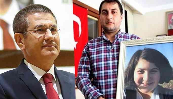 Rabia Naz'ın babasını AKP'li Canikli şikayet etmiş