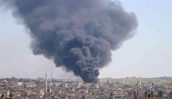 Suriye rejimi İdilib'te Türkiye'ye ait askeri üssü vurdu