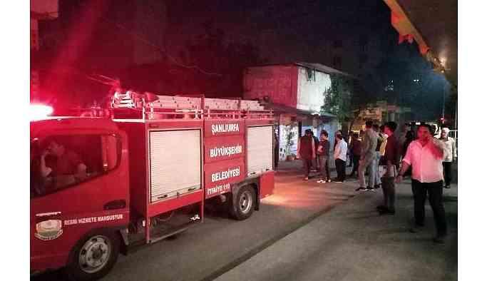 Urfa'da çocukları istismar eden erkeğin ev ve işyeri kundaklandı