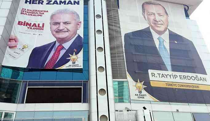AKP'den '81 ile Binali Yıldırım afişi' talimatı