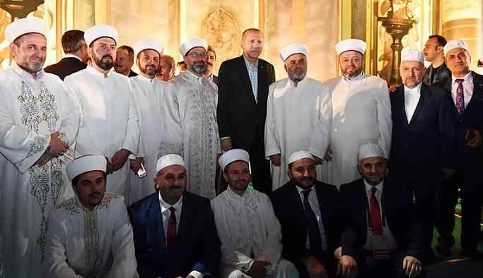 Erdoğan'dan İmamoğlu'na Konstantinapol göndermesi