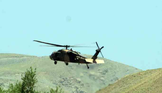 Lice'nin kuzeyindeki dağlık bölge bombalandı