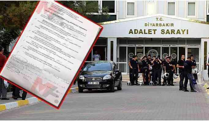 Adliye çalışanlarının fişlendiği belge dosyada unutuldu