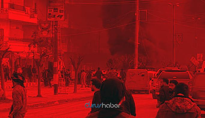 Afrin'de art arda patlamalar: 8 ölü, 35 yaralı