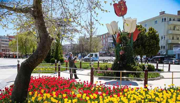 AKP'li belediyenin 'lale devri': 3 milyon TL harcadı
