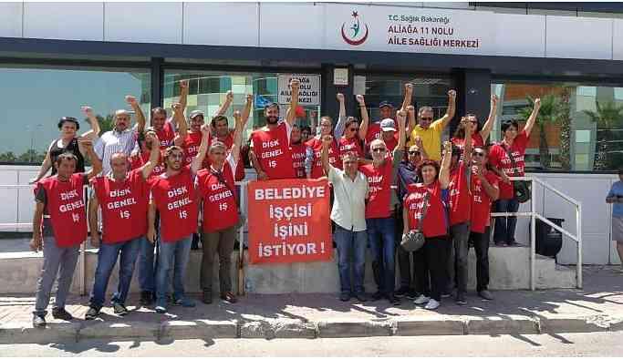 Aliağa Belediyesi'nin çıkardığı işçilere maaşını vermek için parası yokmuş!