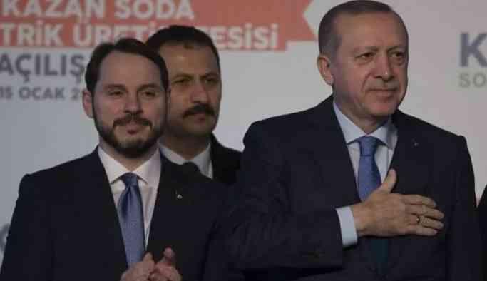 Erdoğan'a Berat Albayrak şikayeti