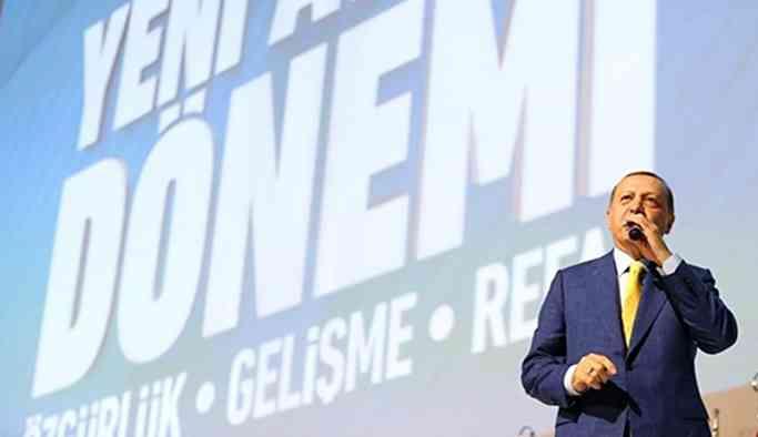 Erdoğan'dan yeni partiye çağrı!