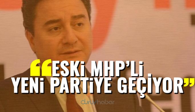 """""""Eski MHP'li Yeni Partiye Geçiyor"""""""