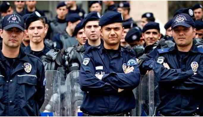 İstanbul'daki 2 bin 62 polise 'şark' tayini
