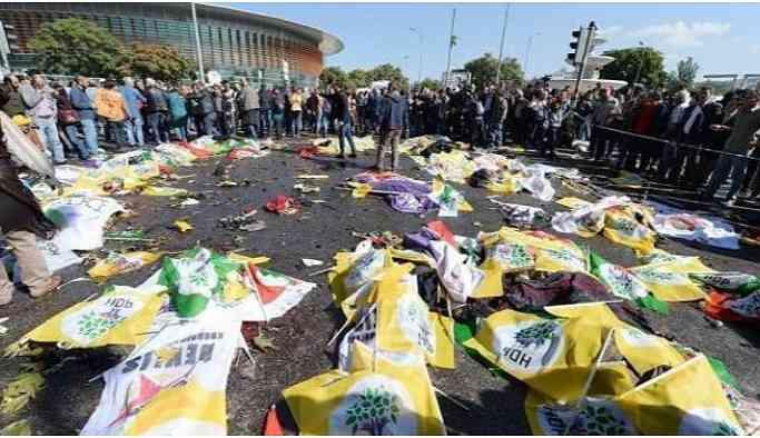 10 Ekim Katliamı'nda oğlunu kaybeden babaya Erdoğan'a hakaretten hapis cezası!