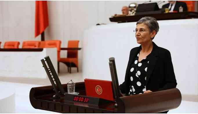 Leyla Güven Meclis çalışmalarına başladı