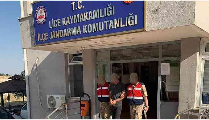 Lice'de 1 kişi tutuklandı