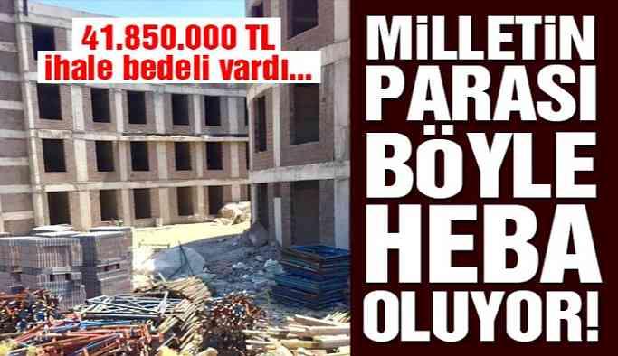 Milletin parası böyle heba oluyor! 150 yataklı hastane çürümeye terk edildi