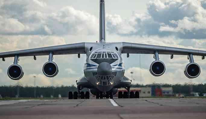 S-400'lerin ilk parçaları Türkiye'ye getirildi