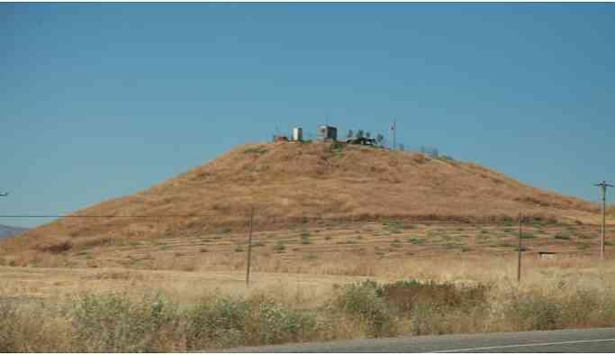 Sit alanı olan Kasımlı Höyüğü askeri üs yapıldı