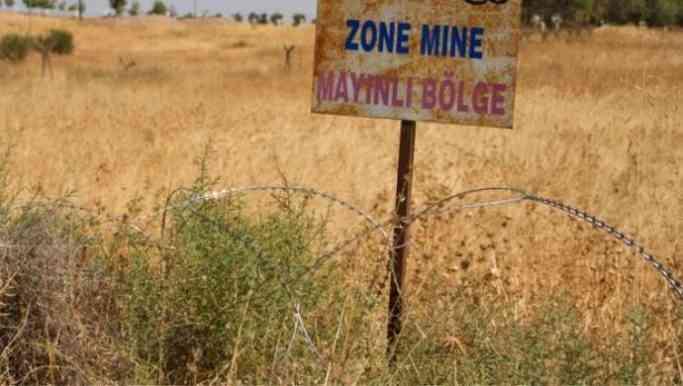 Toprağa gömülü 1 milyondan fazla mayın var