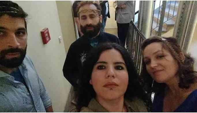 Zehra Doğan ve Fransız sanatçılar serbest bırakıldı