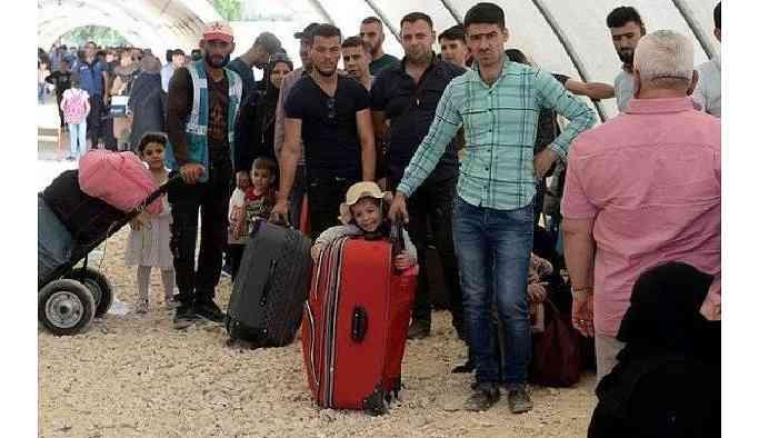 Kaydı bulunmayan 21 bin sığınmacı kentten çıkarıldı