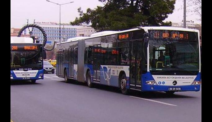 Ankara'da toplu taşımaya yüzde 30 zam geldi