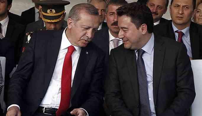 'Babacan'ın amacı Erdoğan'ı yıkmak değil'