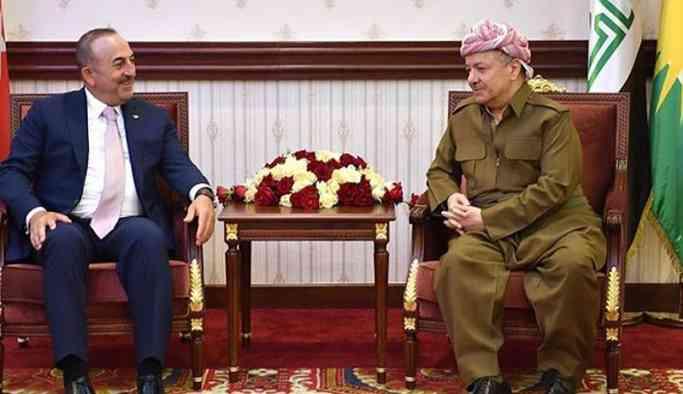 Çavuşoğlu'ndan Barzani'ye mektup: Irak ve peşmerge güçleri birleşmesin
