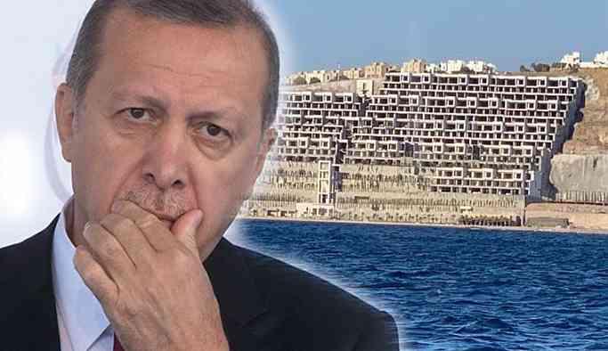 Cumhurbaşkanı Erdoğan kaçak yapıyı inceledi
