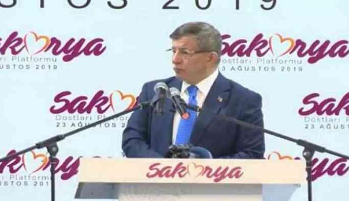 Son Dakika... Davutoğlu'ndan Erdoğan'a sert sözler: Meydan okuyoruz