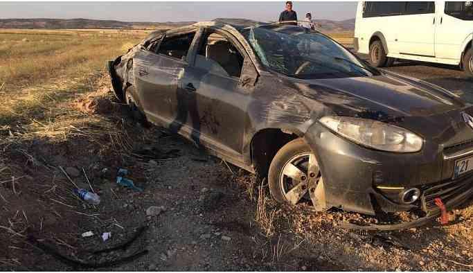 Diyarbakır-Bingöl yolunda kaza: 2 yaralı