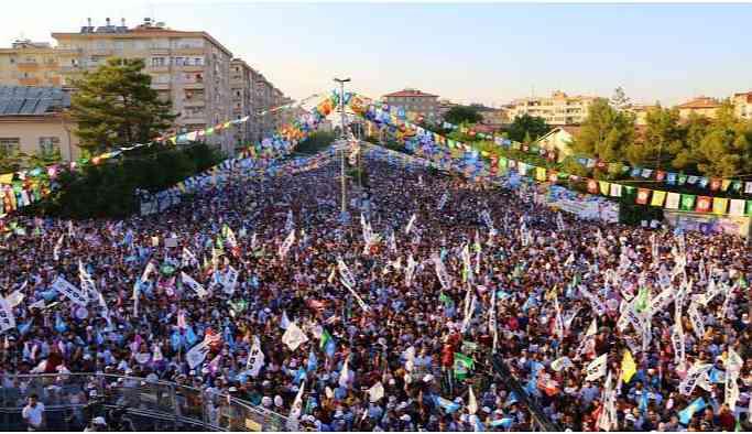 Diyarbakır'da 1 Eylül mitingine izin çıktı