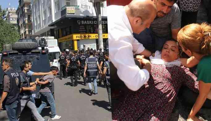 Diyarbakır'da yine saldırı: HDP'li vekil baygınlık geçirdi, gazeteciler darp edildi