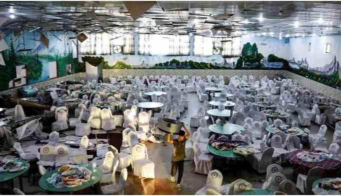 Düğün salonuna bombalı saldırı: 63 ölü, 182 yaralı