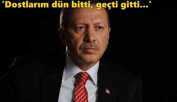 Erdoğan'dan Dikkat Çeken Mesaj!