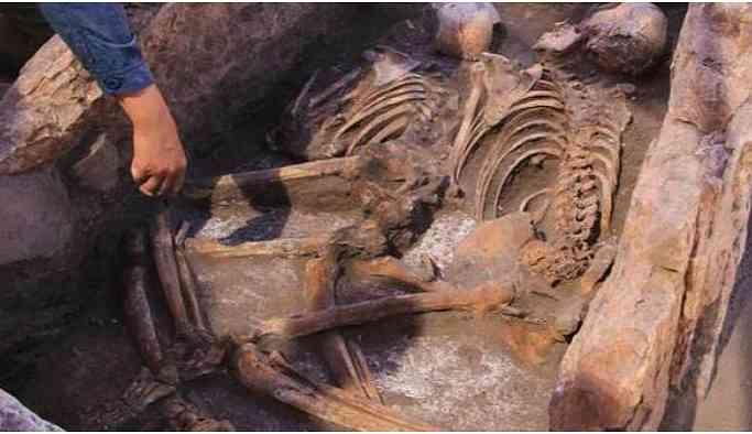 Eskişehir'de 5 bin yıllık insan iskeleti bulundu