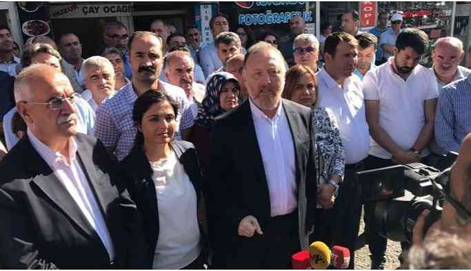 HDP Eş Genel Başkanı Temelli: Ne paleti kardeşim, ülke yanıyor ülke